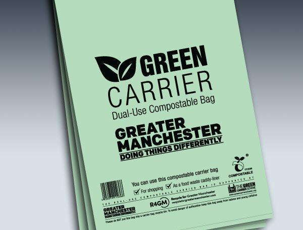Green carrier Manchester shop image