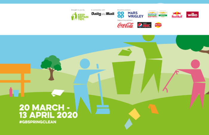 Join the Great British Spring Clean