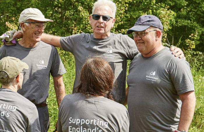 Forestry England volunteers