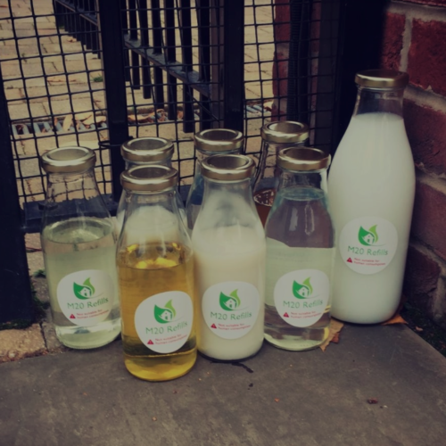 a group of sustainable products