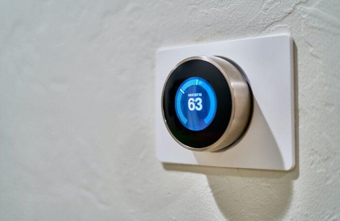 Smart meter heating control