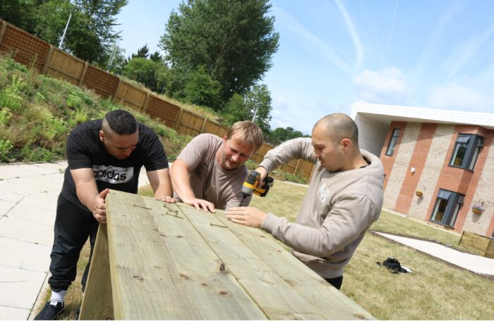 Sowing the seeds of success with a new well being garden