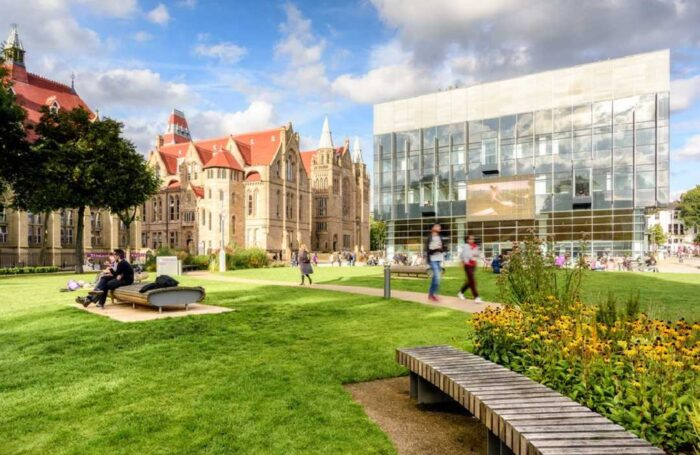 University of Manchester green space