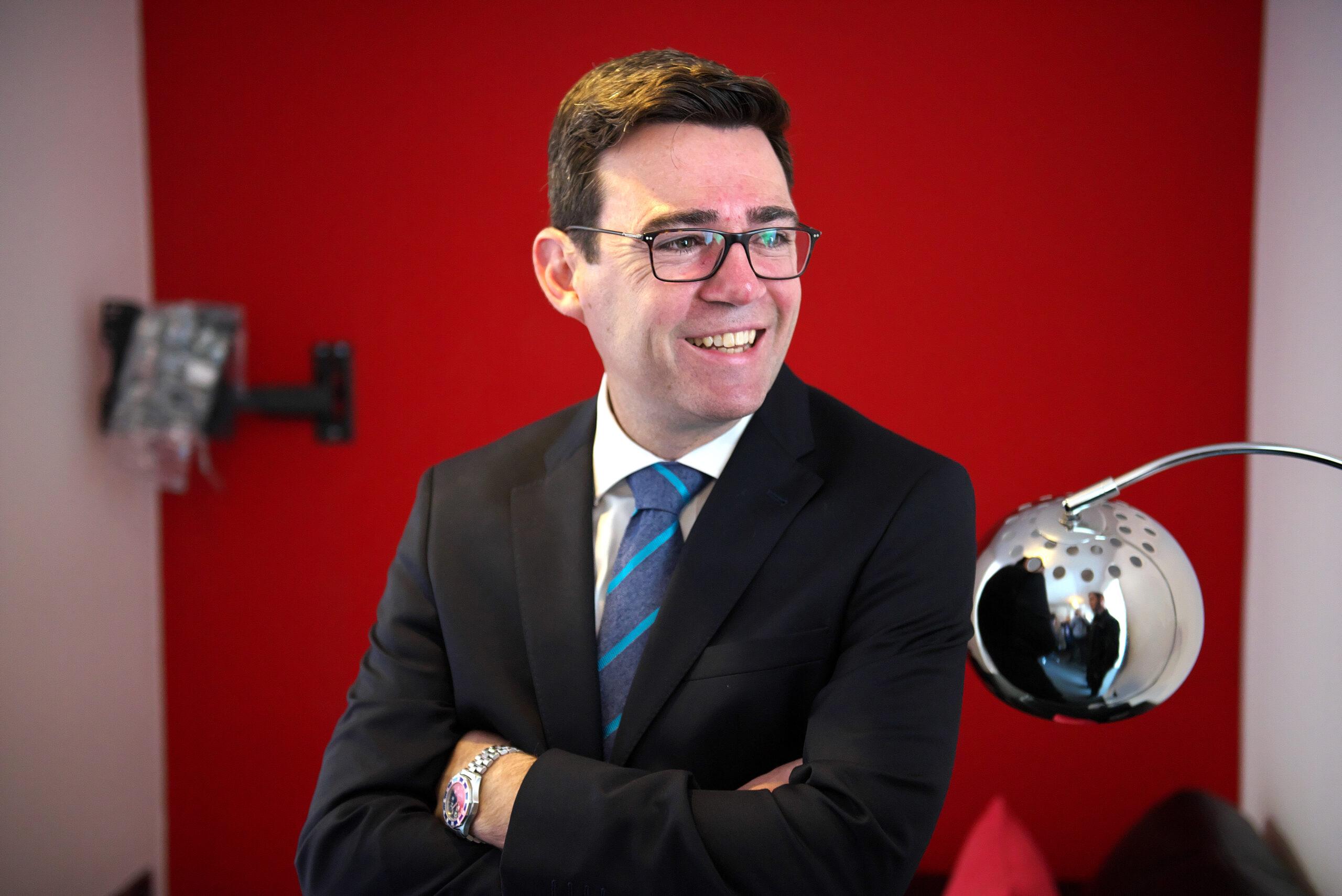 Headshot of Andy Burnham, Mayor of Greater Manchester