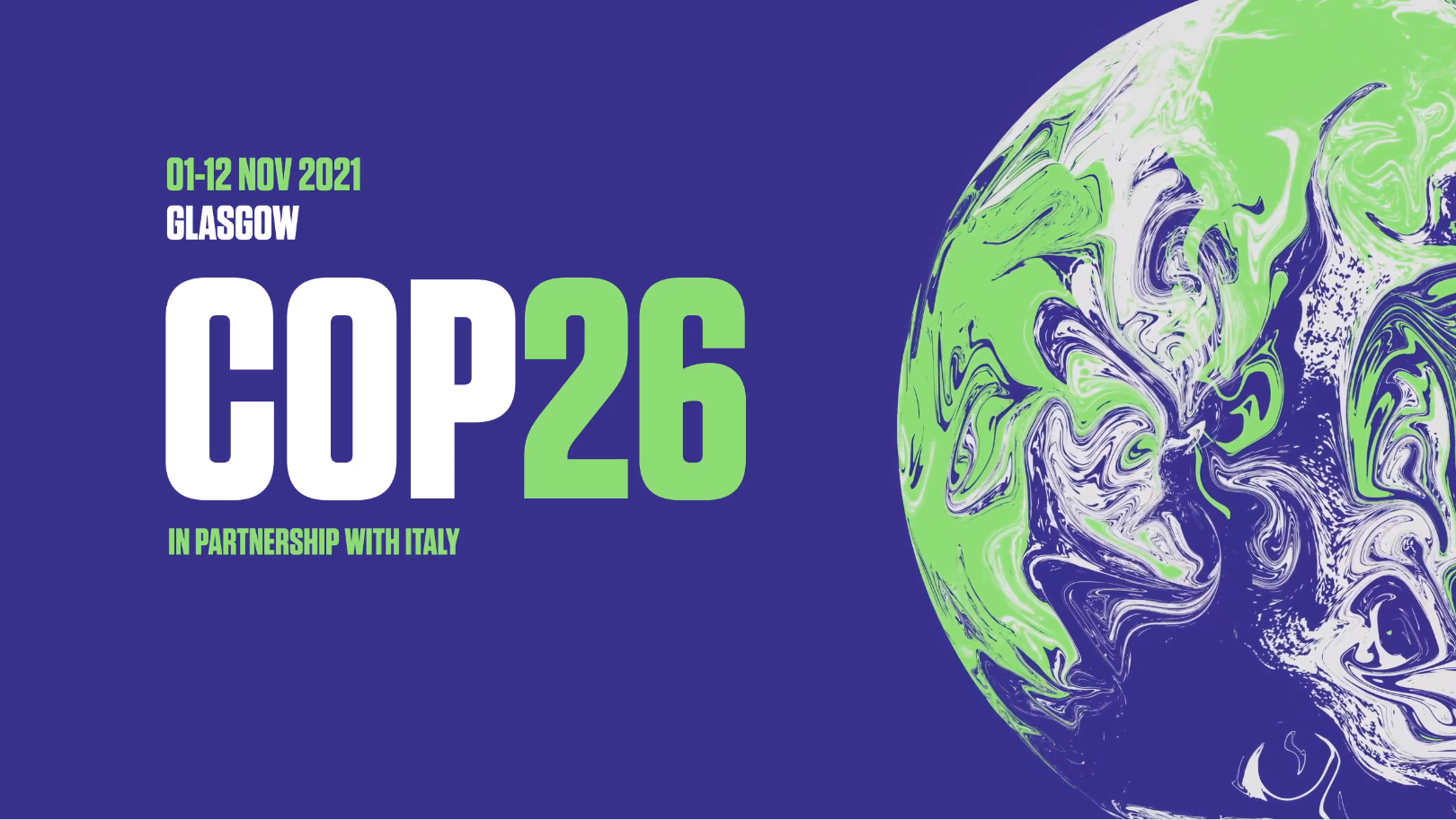 Image of COP26 in Glasgow